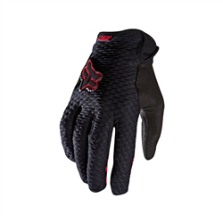 Image: FOX HEAD LYNX LADIES GLOVES BLACK SMALL