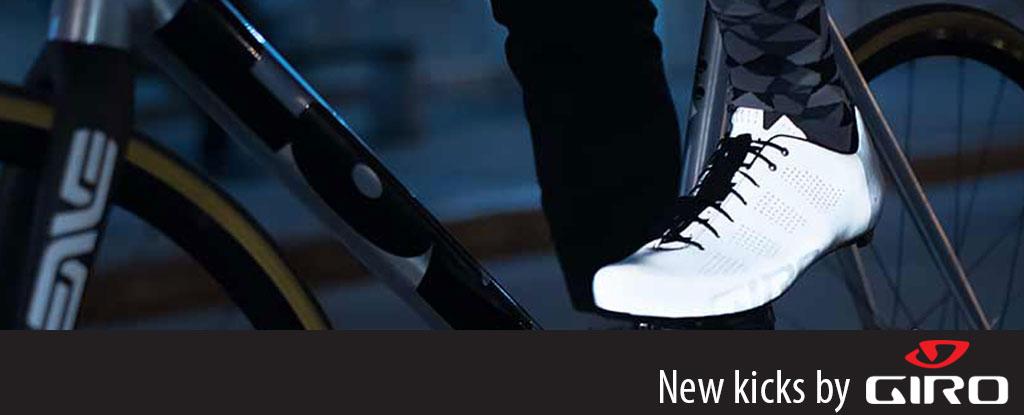 New Giro shoes