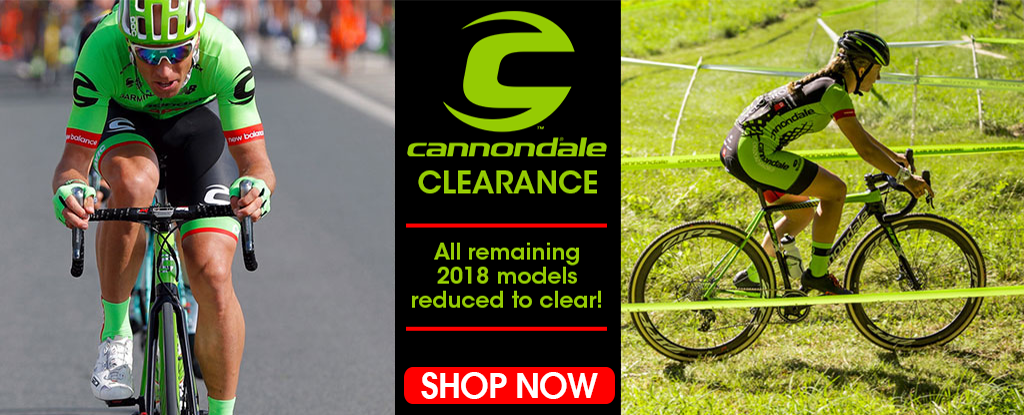 CANNONDALE CLEARANCE